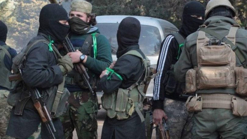 Tahrir al-Sham arrests a cell responsible for explosion a car in Afrin.