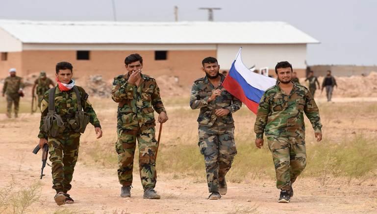 روسيا تسحب ميليشياتها من شمال الرقة