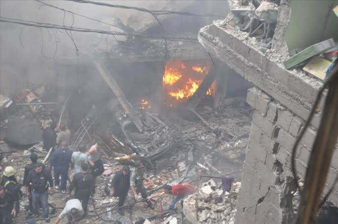 More than 130 persons were killed due to the attacks of the regime and Russia on northwest Syria