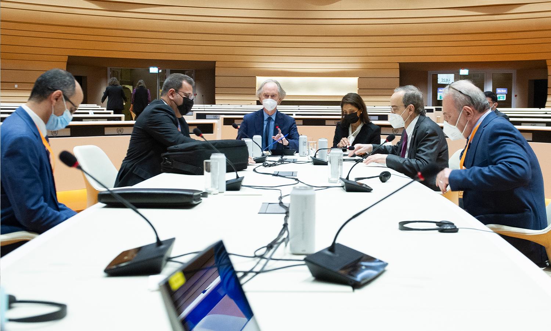 جنيف.. اختتام أول جلسة لصياغة إصلاح دستوري في سوريا