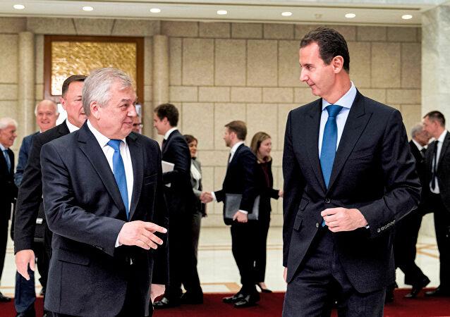 الخارجية الروسية تكشف تفاصيل  لقاء مبعوث بوتين مع الأسد بدمشق
