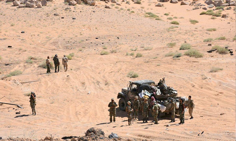 داعـ.ـش يهاجم مواقع النظام والميليشيات المتمركزة بالقرب من حقول النفط في دير الزور