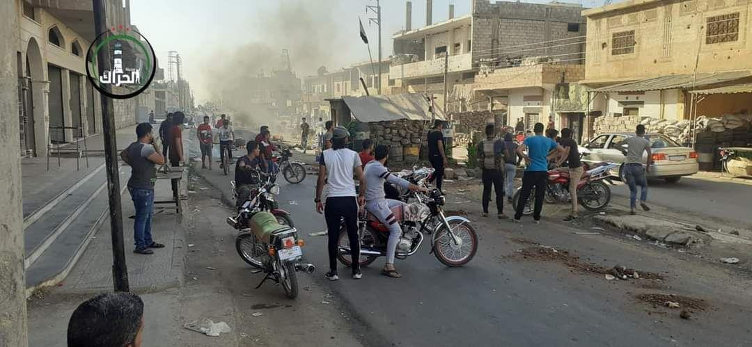 Al-Assad regime continues to impose its security settlements in Daraa governorate in conjunction with the siege of Nahta