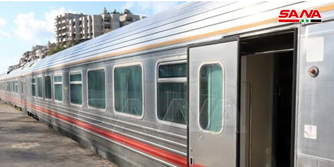 Resuming the operation of passenger trains on the axes of Tartous, Lattakia and inside Aleppo