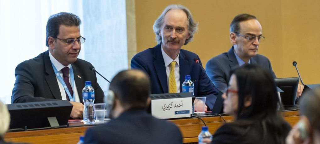 The Syrian Constitutional Committee discusses a proposal from the opposition about security and intelligence