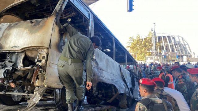خاص قاسيون| محلل عسكري يعلق على تفجير باص المبيت في دمشق