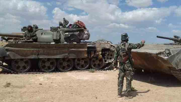 The regime sends huge military reinforcements to Aleppo and Al-Raqqa countryside