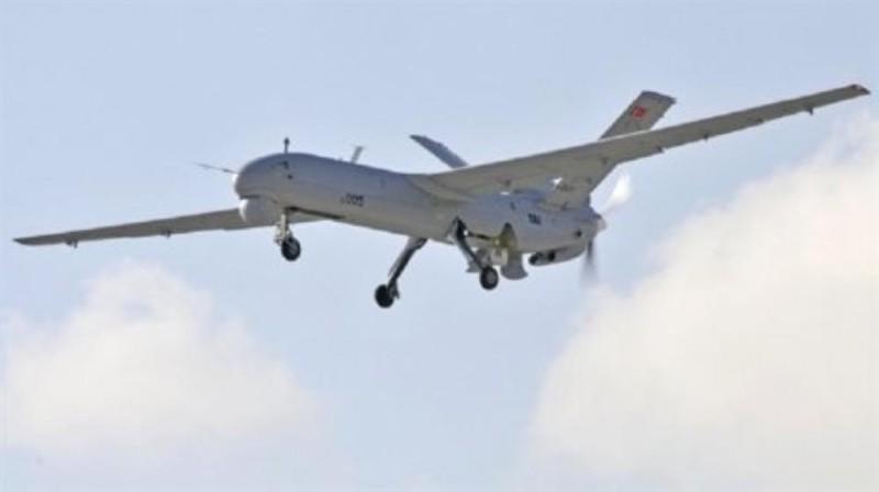 A Turkish drone targets a SDF vehicle in Ain al-Arab