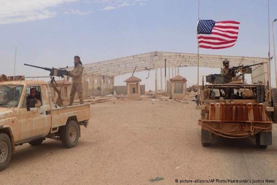 واشنطن تهدد  بحق الرد على هجوم قاعدة التنف في الزمان والمكان المناسبين
