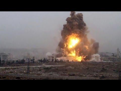 5 قتلى من النظام بانفجار مستودع ذخيرة قرب حماه