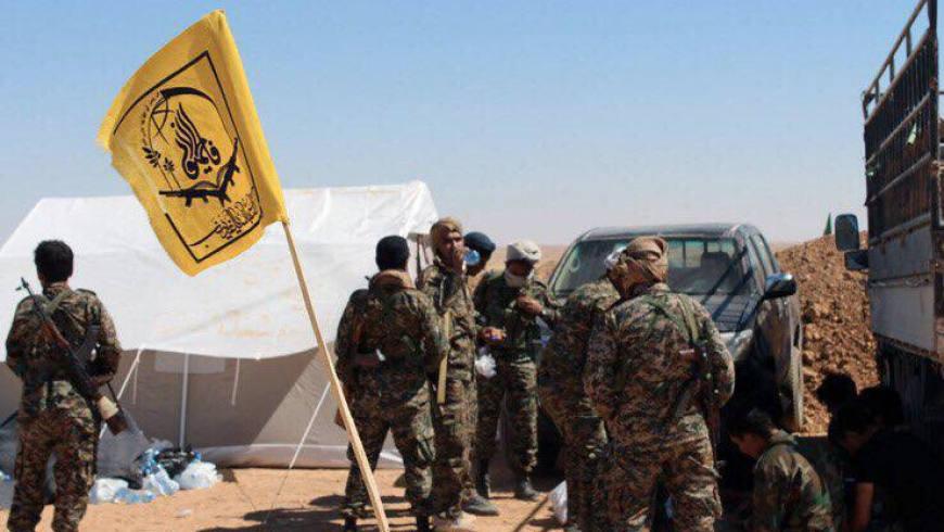 6 members of Fatemiyoun militia were killed in an ISIS attack east of Homs