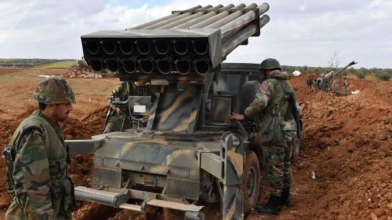 قصف متبادل بين النظام وفصائل المعارضة في إدلب