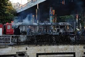 مصادر: النظام وإيران أبرز المتهمين والمستفيدين من تفجير حافلة المبيت في دمشق