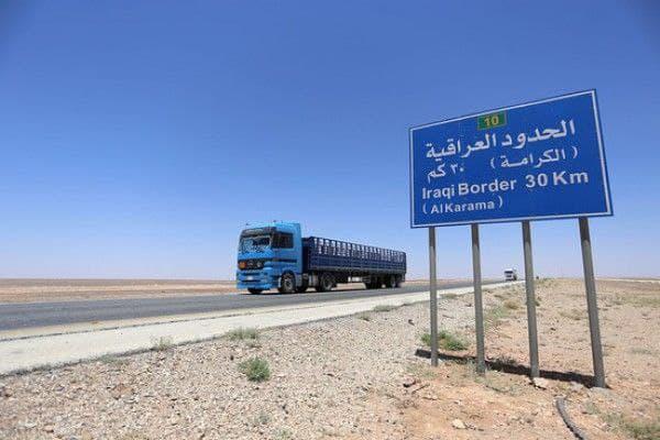 العراق يقيم حاجزا أمنيا على طول حدوده مع سوريا
