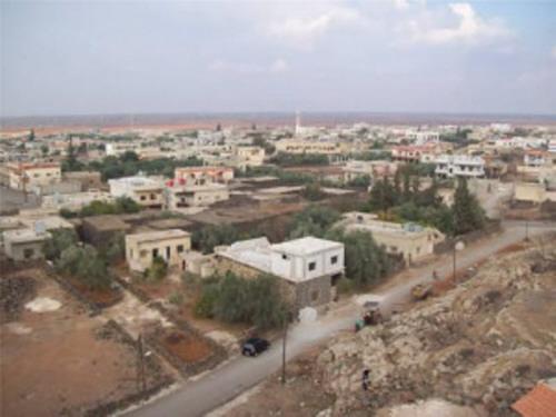 توتر أمني في بلدة ناحتة بريف درعا الشرقي