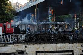 Sources: The regime and Iran are the most prominent suspects and beneficiaries of the bombing of the overnight bus in Damascus