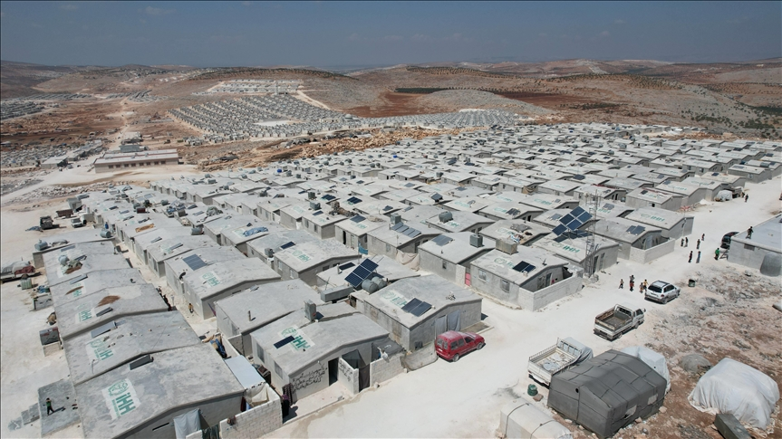Turkish aid builds more than 16,000 temporary homes in Idlib