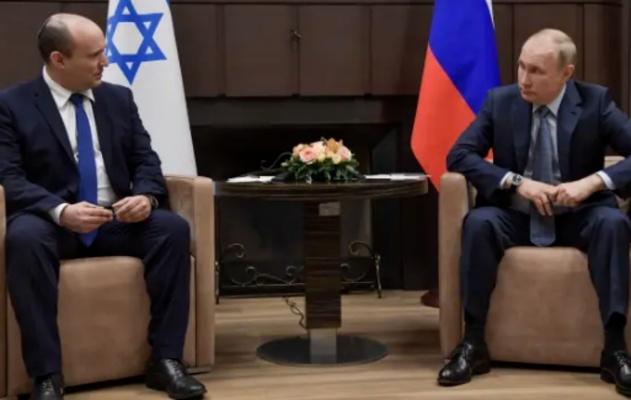 بوتين يؤكد  وحدة المصالح بين روسيا و إسرائيل في سوريا