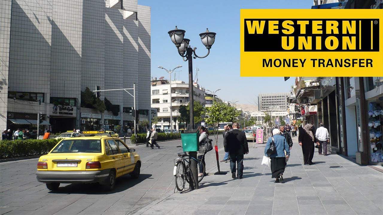 News of the Western Union Remittance Company suspending its activities in Syria
