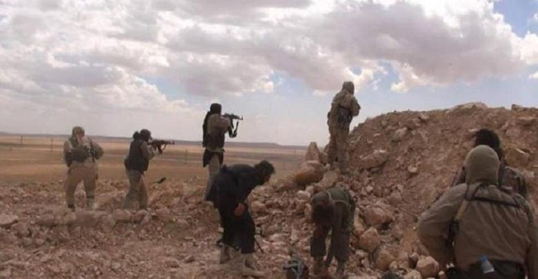 داعـ.ـش يعلن مقتل 210 عنصرا للنظام في تشرين الأول