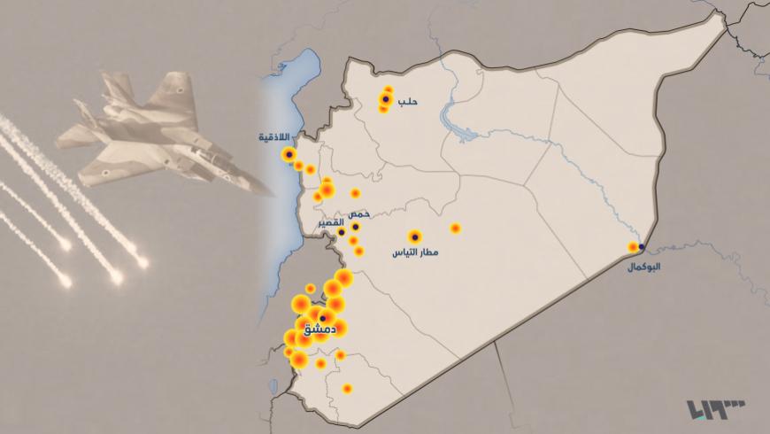 إسرائيل تسلم روسيا خرائط تصوير جوي لمواقع تواجد ميليشيات إيران بسوريا