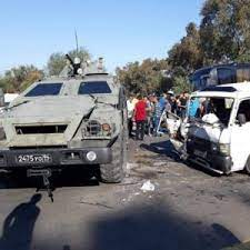 A Russian armored vehicle causes a massacre on Tartus road