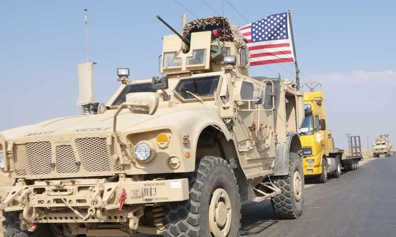 للمرة الثانية ...قوات النظام تعترض رتلا أميركيا في ريف الحسكة