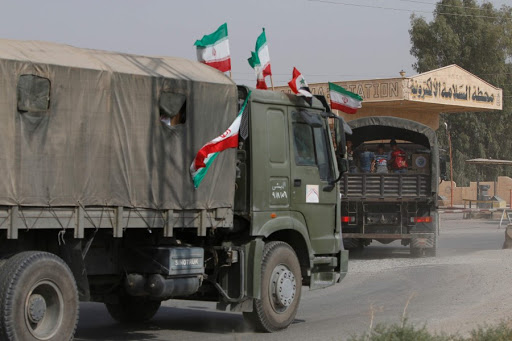 Coming from Iraq, Iranian militias enter arms shipments to eastern Syria